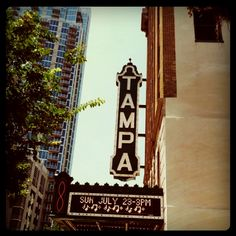 Tampa Theatre - Argosy graduation (Masters)