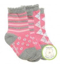 BabyLegs Organic Socks for little feet - Royal Court