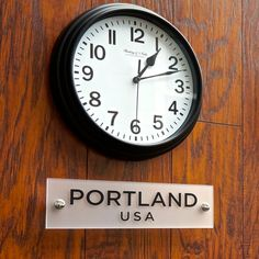 Custom Acrylic Signs for World Clock Time Zones.  ***CLOCKS NOT INCLUDED***  This simple design is for anyone wanting to add the charm and