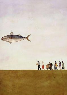 Poster for Short Film [고등어(Mackerel Fish)] on Behance