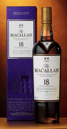 macallan 18yo whiskey