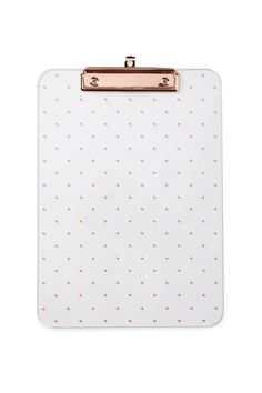 Page Not Found – 404 Display your most important documents on Typo's printed Clipboard. Clipboard comes with rose gold accented metal and a pretty polka dot print to organise your insta-worthy desk space!