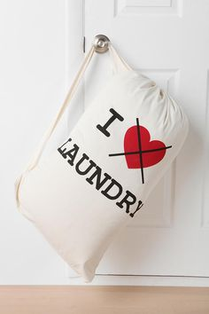 Drawstring Laundry Bag #urbanoutfitters