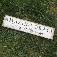 """Amazing Grace How Sweet The Sound 