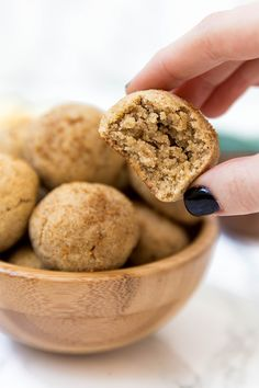 These paleo & AIP apple donut holes are a simple and delicious fall treat! They're paleo, egg free, AIP, and are made in the oven. Cinnamon Sugar Apples, Apple Cinnamon, Donut Flavors, Donut Holes, Fall Treats, Paleo Dessert, Paleo Breakfast, Food Print, Egg Free