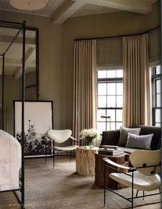 Tall Windows - Window Treatments