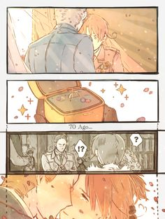Everything Hetalia! 新刊 by 土岐野>>>> OMG this is soooo cuute