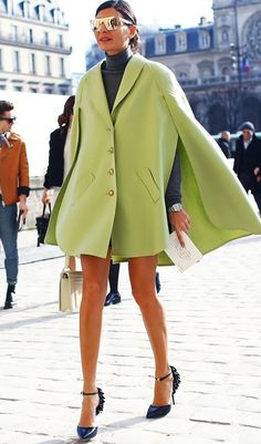 Street Style | Paris Fashion Week source: Vogue, Giovanna Battaglia| @andwhatelse