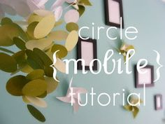Boxy Colonial: DIY Mobile: a tutorial with many pictures