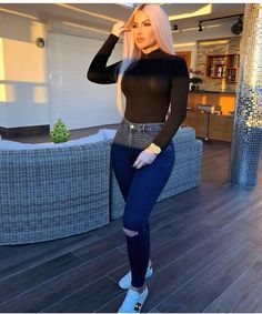Cute Lazy Outfits, Teen Girl Outfits, Classy Outfits, Sexy Outfits, Beautiful Outfits, Stylish Outfits, Fall Outfits, Fashion Outfits, Best Jeans For Women