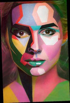 Optical illusions in body art - - @ciemoddustse197