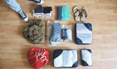 Weltreise Packliste: Packhilfen für Backpack