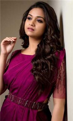 Keerthy Suresh South Indian Actress,Images,Latest,Movies: Keerthy Suresh in Pink Saree with Cute and Lovely Smile no bra Indian Actress Images, Tamil Actress Photos, South Indian Actress, Indian Actresses, Fancy Blouse Designs, Saree Blouse Designs, Blouse Styles, Sonam Kapoor, Deepika Padukone