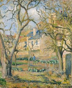 Camille Pissarro, Vegetable Garden (1878).