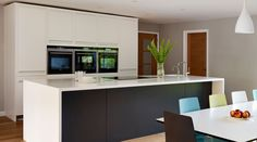 Linear Kitchens from Harvey Jones Kitchens