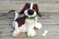 1000 Ideas About Fondant Dog On Pinterest Fondant Dog