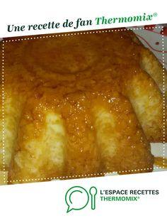 gateau de riz au lait par titininnin. Une recette de fan à retrouver dans la catégorie Desserts & Confiseries sur www.espace-recettes.fr, de Thermomix<sup>®</sup>.