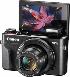 Canon - PowerShot G7 X Mark II 20.1-Megapixel Digital Camera - AlternateView1 Zoom