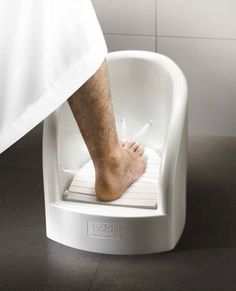 Wudu Foot Washer by Bold --> Looking for a wow deal? ==> Click the link in bio. Bathroom Layout, Bathroom Interior Design, Modern Bathroom, Bathroom Designs, Modern Bungalow House, Tiny House Loft, Sweet Home Design, Prayer Corner, Bathroom Sink Cabinets