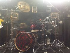 V系バンド THE BLACK SWAN 煉様 ドラムヘッドプリント制作実例
