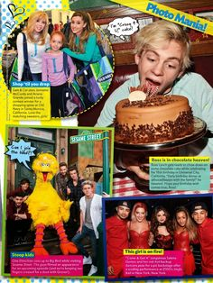 ross and laura dating tiger beat Ross seemed very jealous/frustrated when raini and laura thought raura meant them ross said raini  bop and tiger beat,  austin & ally spinoff wiki is a.