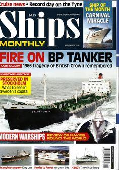 Ships Monthly November 2016
