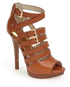 MICHAEL Michael Kors 'Sandra' Platform Sandal (Women)