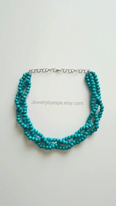 Hey, I found this really awesome Etsy listing at https://www.etsy.com/listing/450169800/rustic-blue-necklaceturquoise