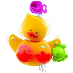 Ducky Spout (12m+)   Pour water into Dedee's head and it will sprout from its mouth dans flap its wings !  So much fun!