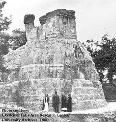 ancient megaliths of Wisconsin - many have been destroyed but 4,000 of them still remain
