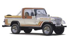 Sweet 1982 #Jeep #CJ-8 #Scrambler.