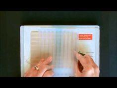 Gingham Background using Stripes Embossing Folder