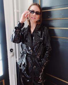 Raincoats For Women Long Sleeve Vinyl Raincoat, Pvc Raincoat, Hooded Raincoat, Long Raincoat, Black Raincoat, Black Rain Jacket, Rain Jacket Women, Vinyls