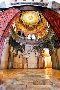 Oratorio del Palacio de la Aljaferia Zaragoza Spain