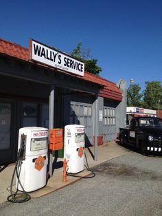 Wally's Service Station - Mt. Airy North Carolina