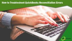 There are ample of ways to solve the reconciliation problems in QuickBooks.