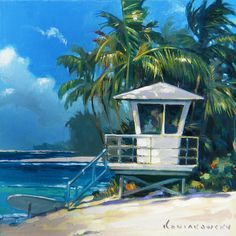 hawaii painting vintage - Google zoeken