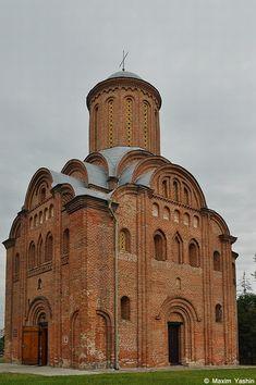 St. Paraskeva Church (the beginning of the 13th century) in Chernihiv, Ukraine