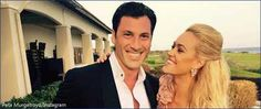 Maksim Chmerkovskiy and Peta Murgatroyd's new baby son makes TV debut