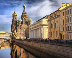 St. Petersburg, Russia - Home of the masterful Hermitage and 300+ year old pipes which carry heavy metal pollutants, bacteria and the parasite, Giardia Lamblia... don't drink the water!