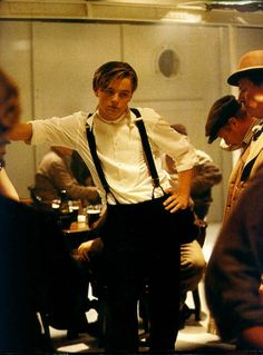 Photo of Titanic for fans of Titanic. Behind the scenes.