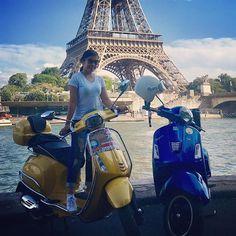 paris vespa scooter tour