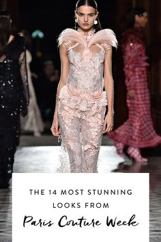 If you're even remotely interested in fashion, Paris Couture Week is the stuff of dreams, and we've been poring over the latest collections obsessively. Here's digest of the most showstopping looks.