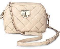 Tasche CAMERA BAG von DKNY in beige für Damen. Gr. 1