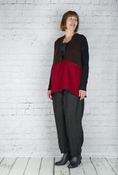 #TM Collection #Vest Yota Ganso TM15513 (Burgundy Back)  #fashion #walkers #winter #season