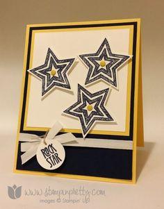 Stampin up stamping up star framelits dies be the stamp set card ideas demonstrator blogs