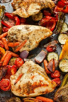 Roasted Bone-In Chicken Breasts with Vegetables 2