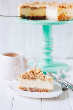 Almond Cheesecake with Mascarpone. check it now or save for later.