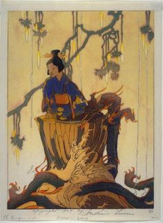 Dragon Well ; 1924 ; Bertha Lum