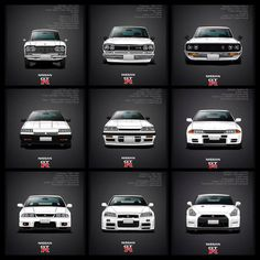 Nissan Skyline evolution